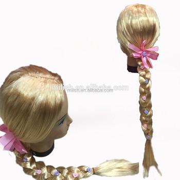Welp Mpw-0401 Party Leverancier Novelty Kinderen Kids Rapunzel Pruiken DF-44