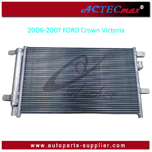 OEM:6W7Z19712A Parallel Flow Condenser/Auto Air Conditioner Condenser