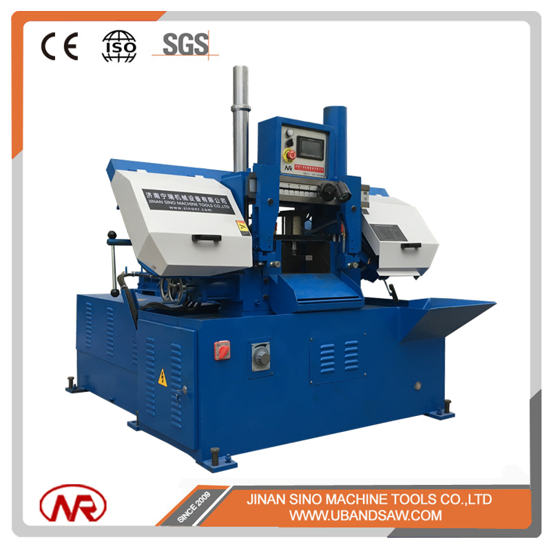 China NR fully automatic cutting 260mm band saw machine to cut metal