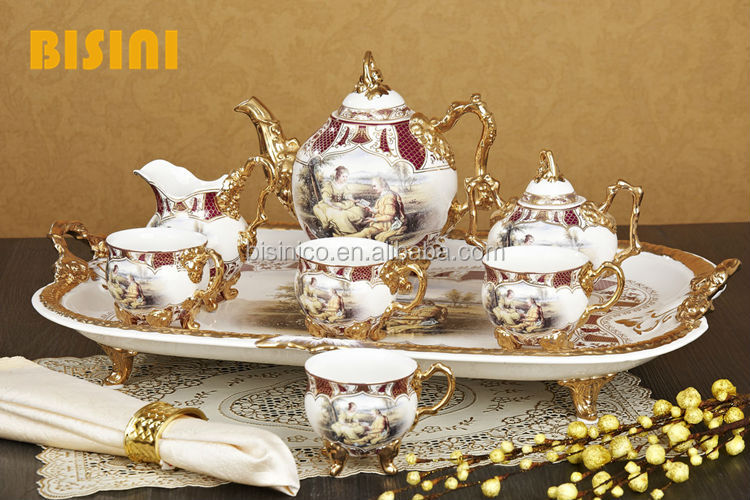 Luxury And Royal Vintage Ceramic Tea Set Bf01 0217 Buy
