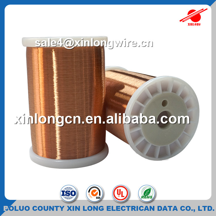Ul Approved Electric Motor Copper Coil Wire 0.8 Mm Enamelled Copper ...