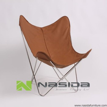 CH203 Full Leather Big BKF Butterfly Chair
