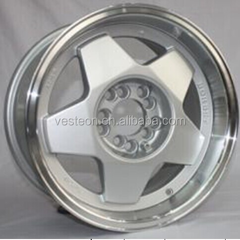 15 inch alloy wheel with big center cap
