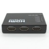 Factory Price 5 In 1 Out 3D1080P Out Matrix HDMI Switcher With Remote Control