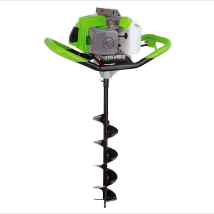 Portable two-stroke 48F gasoline digging machine low price for sale