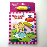 Eco friendly personalized water magic aquabook water coloring book for kids