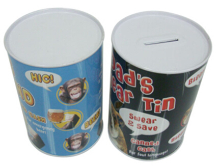 Hot selling cans packaging coin tin box