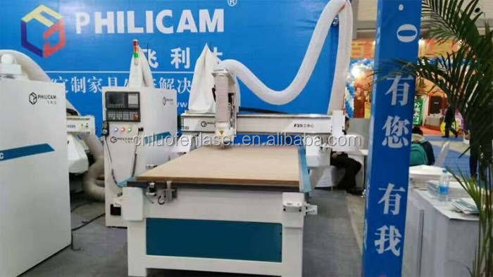 Philicam Wooden door engraving machine/cnc router wood furniture making machine