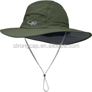 Wholesale Custom Plain Bucket Hat with String