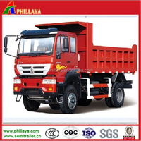 SINO HOWO 4X2 10 ton dump truck for sale