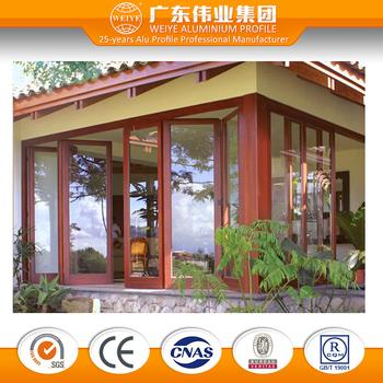 Comfort Room Door Design Aluminumi Folding Casement Windows Doors
