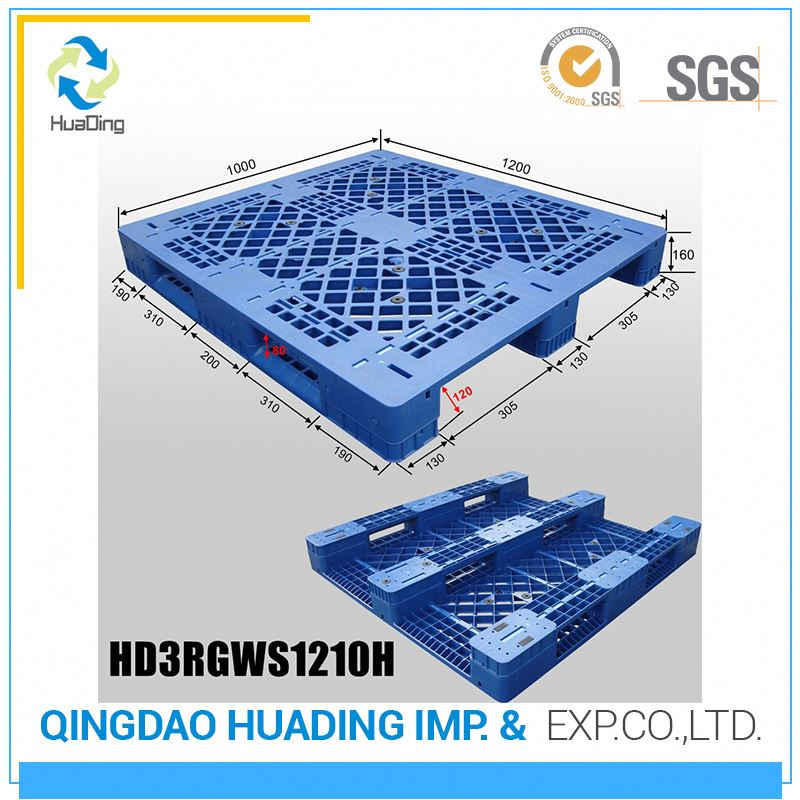 Heavyweight Plastic Storage Pallets Food Tray