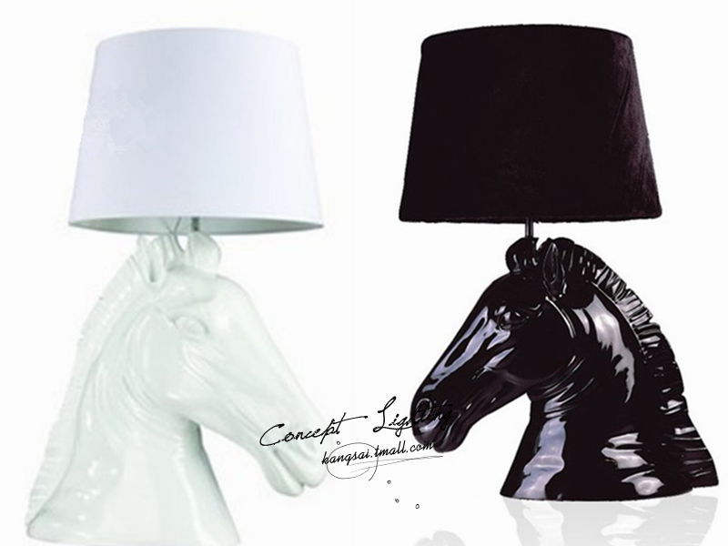 Cheap horse head table lamp find horse head table lamp deals on modern minimalist fashion creative personality resin table lamp table lamp table lamp bedroom lamp horse lamp aloadofball Image collections