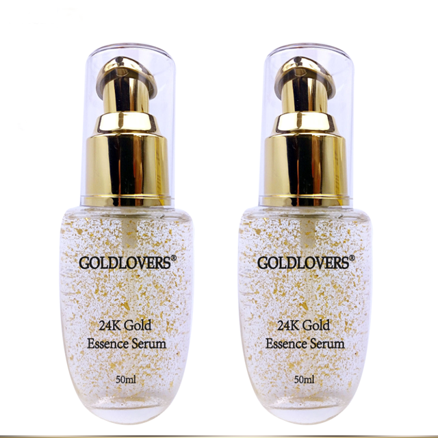 Anti aging 24k active gold vitamin c  hyaluronic acid serum
