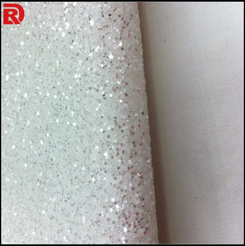 Cheap white silver mixed glitter wallpapers for for Cheap glitter wallpaper