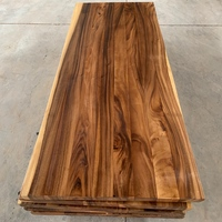 factory directly sell export to USA South American walnut live edge 3-5 panels kitchen worktop