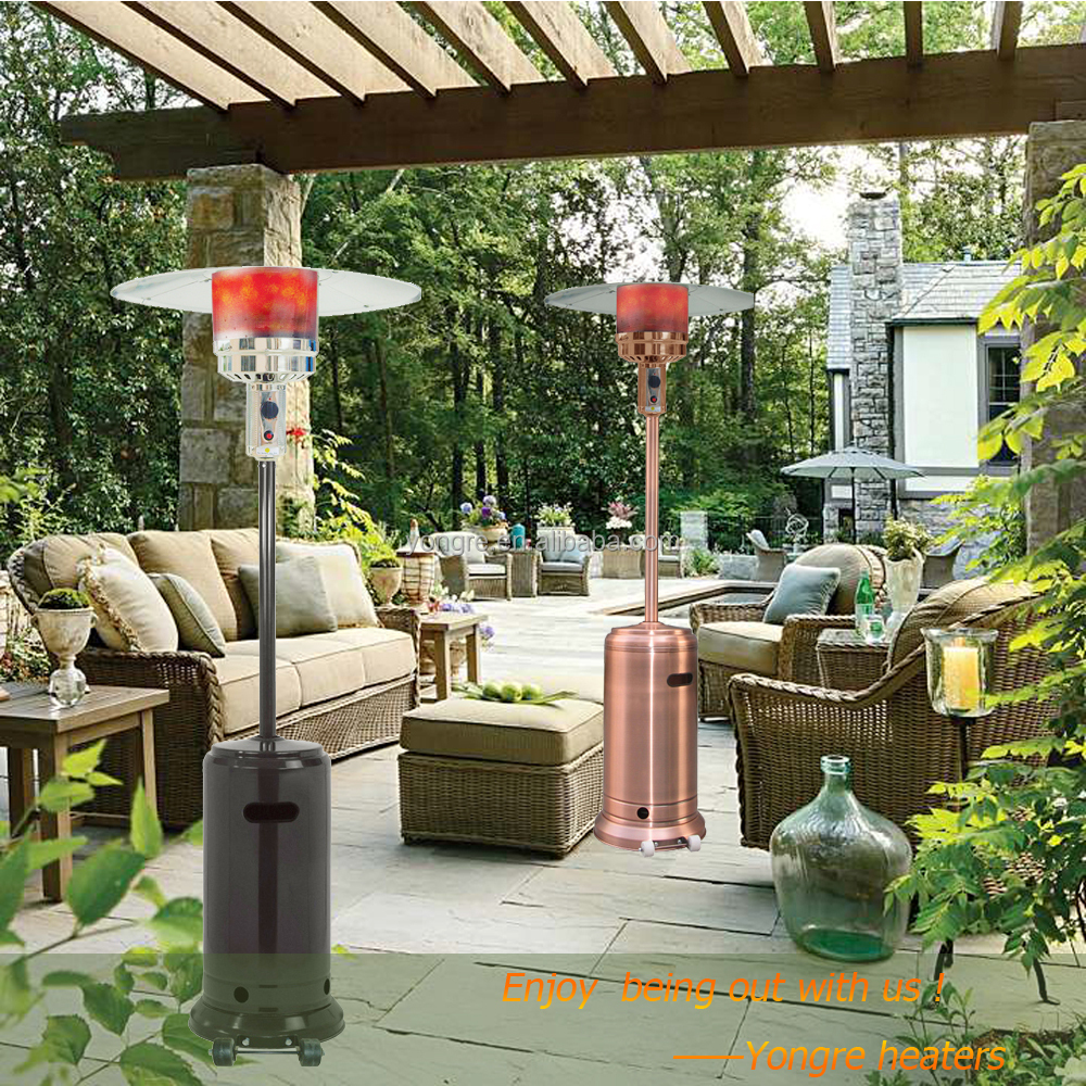 Exceptional Stand Up LPG Gas Patio Heater For Outdoor Use