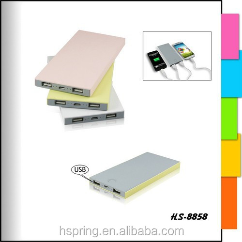 Best-selling credit card design Get Your Own Designed ultra slim power bank 20000mah