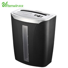 Tenwin 9002 black silent high efficiency heavy duty paper shredder machine for home and office