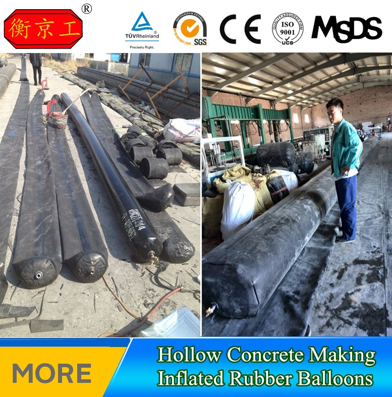 Dam Construction Rubber Inflated Mandrel