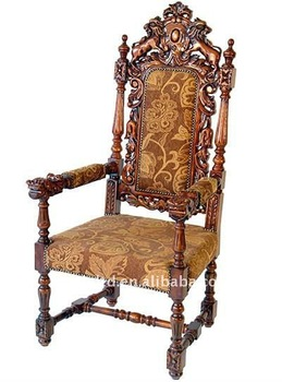 Bon Pulpit Chair,solid Wood Hand Carved King Church Chair