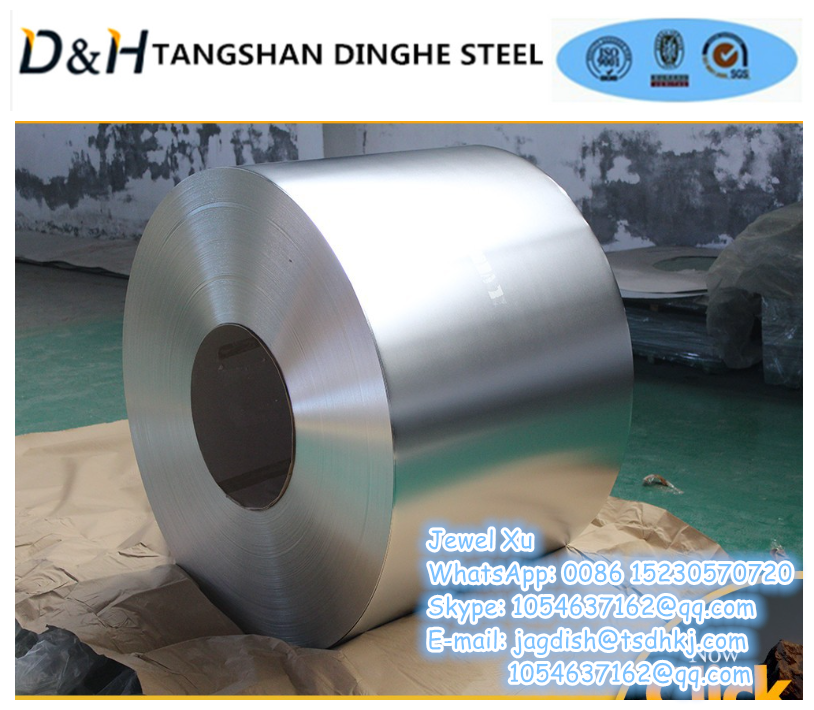 Tangshan Dinghe prime tinplate sheets/coils packed in bundle, T3, SPCC, ETP