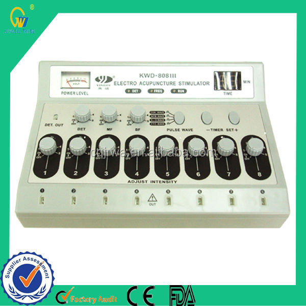 2014 Chinese Traditional Portable Cheap Electric Muscle Black Electro Acupuncture Needles Stimulator Device