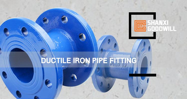 Pn10, pn16 ductile iron pipe fittings