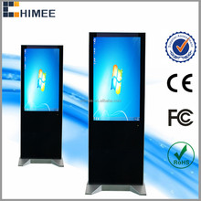 HQ42ES-M1 42 inch 1080P Full HD Floor standing LED monitors for computer advertising players used in hotel shopping mall