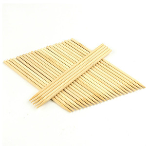 Disposable Round Natural Bamboo Barbecue Sticks