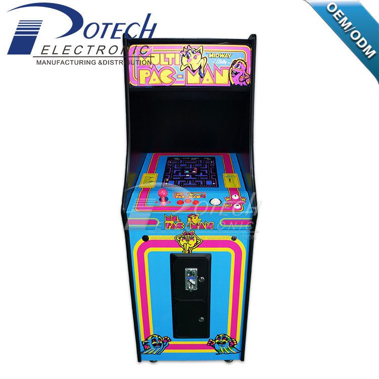 Fashion Ms Pacman 60 In 1games Upright Arcade Game Machine ...