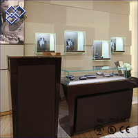 High grade fashion jewelry display showcases exhibition stand counter