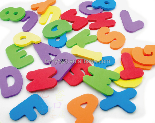 15013139 water proof colorful bathroom foam education bath letters and numbers toys