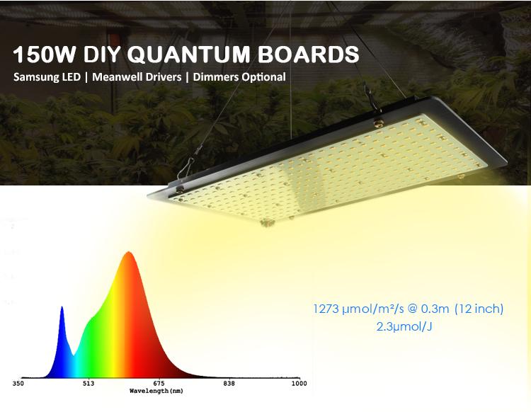Horticulture Samsung Led Lm301b Qb288 Board Led Grow Panel 150w- 600w Hlg  550 V2 Full Spectrum Led Grow Light Quantum Board - Buy Lm301h Quantum  Board