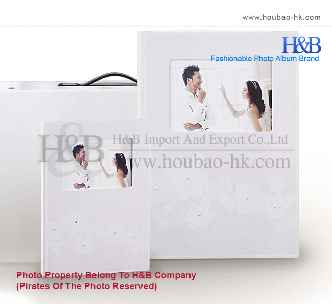 MOQ 5 sets A4 Painting Unique Design Wedding Albums For Sale