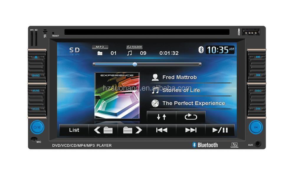 Double Din 6.2 inch car radio android 6.0 GPS 3G WIFI LT-9212A