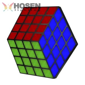 2018 New products Led Magic cube light RGB 3in1 SMD5050 dancing led lights