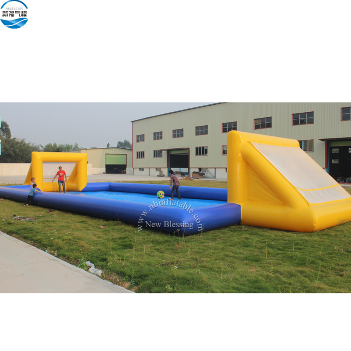 Inflatable human football game/ Inflatable human football pitch/ inflatable human table football