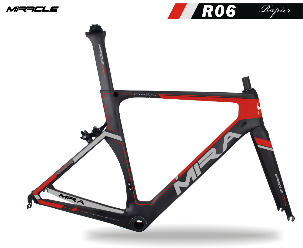 Warranty 2 years Carbon Bike Frame,T700 AERO Road Bike Frame Carbon,Accept Customer Paint Carbon Frame Bike