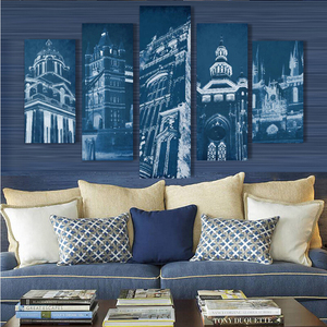 Famous Britain scenic spots canvas art photo printing painting wholesale