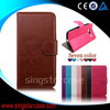 leather back cover of samsung note3 neo, flip case cover for samsung galaxy note3 neo