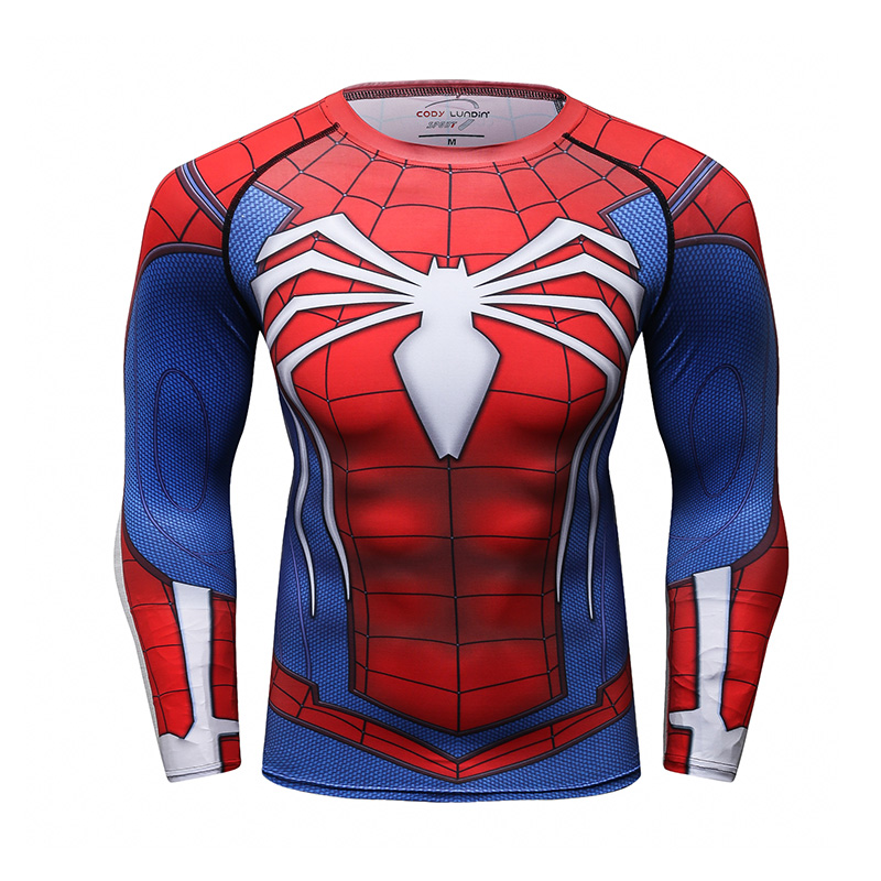 Commercio all'ingrosso su ordinazione t shirt mens marvel supereroi spiderman camisa shirts