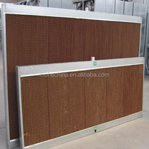 Poultry Chicken House Air Evaporative Cooling Pad/Wet Curtain Cooling System
