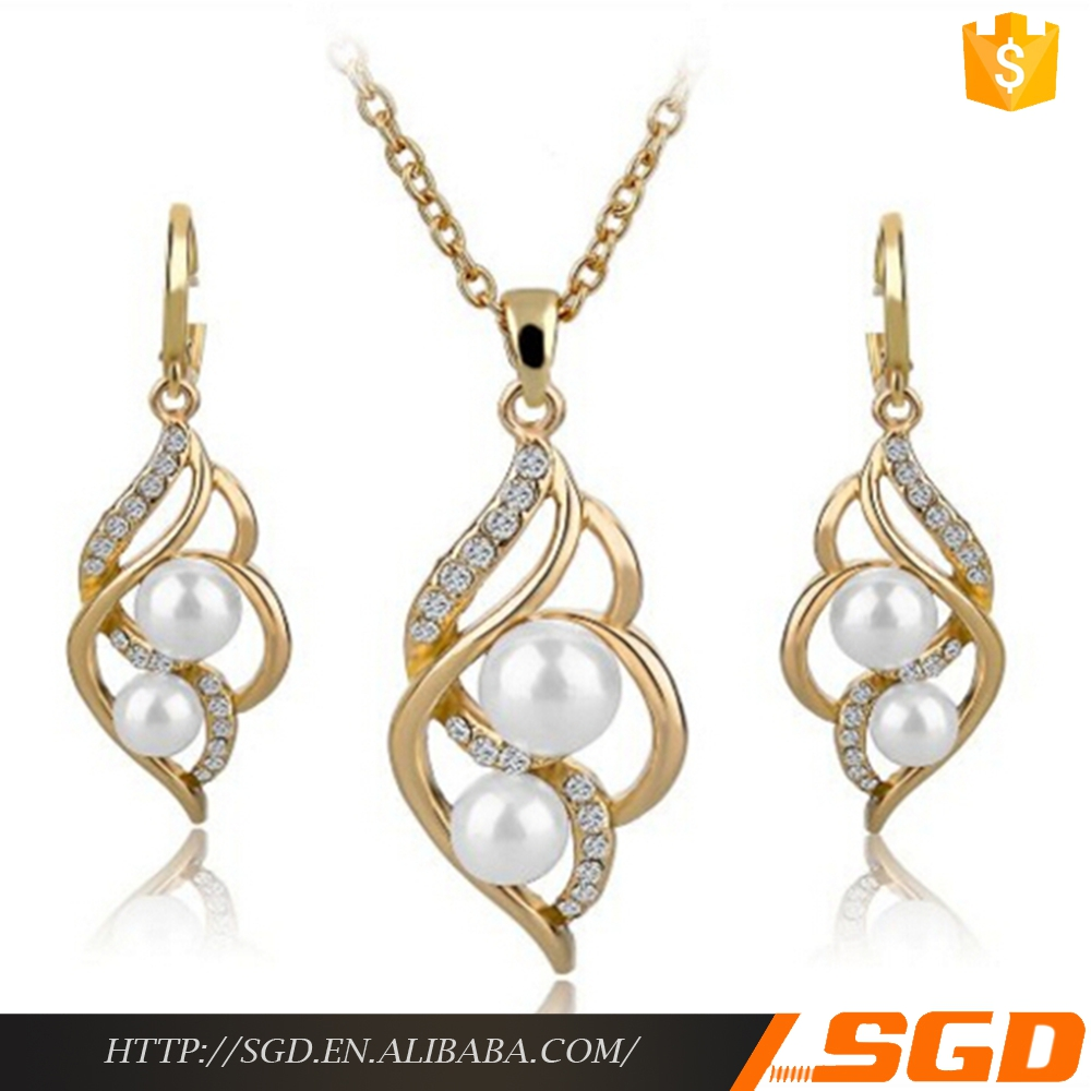 Dubai Gold Jewelry Pearl Set, Dubai Gold Jewelry Pearl Set Suppliers And  Manufacturers At Alibaba