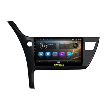 NaviHua 10.1 inch big touch screen Car radio Stereo for Toyota Corolla 2017 android car dvd player GPS Navigation