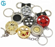 Manufatura profissional de Metal Auto <span class=keywords><strong>Turbo</strong></span> Keychain