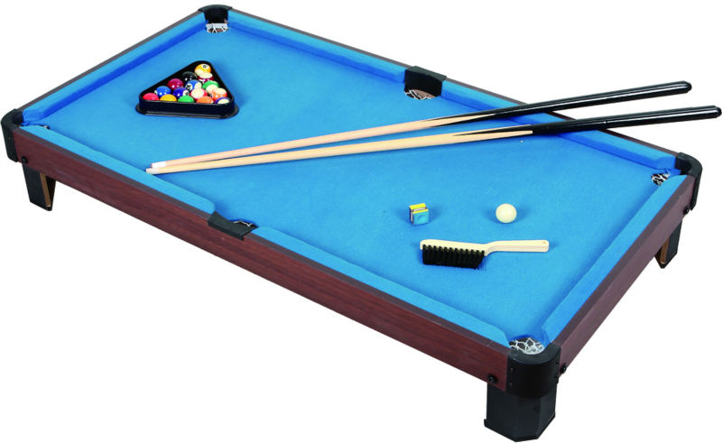 MDF Tabletop Pool Table For Kids