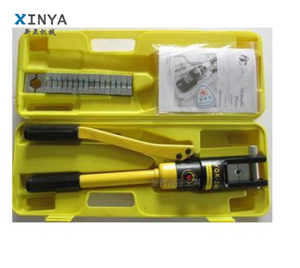 Manual hydraulic crimping tools, hydraulic press tool for crimping