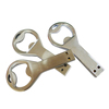 Custom capacity metal bottle opener usb flash drive