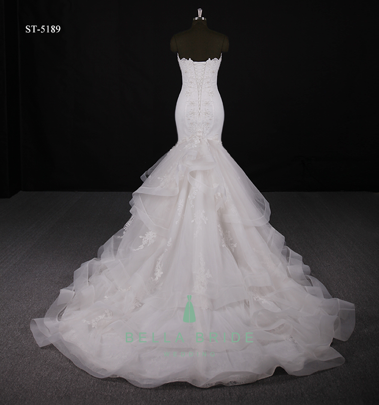Latest Bridal Wedding Gowns Pictures Mermaid Wedding Dresses China ...